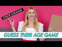 Chloe Lukasiak || Guess Their Age Game