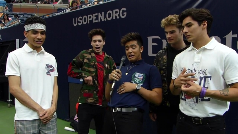 In Real Life Interview with at Arthur Ashe Kids Day 2018 AAK