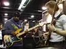 Marcus Miller and Hadrien Feraud Markbass booth NAMM '08