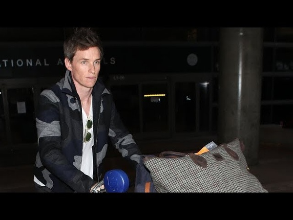 Eddie Redmayne Is Asked If He Can Fly With His Wand