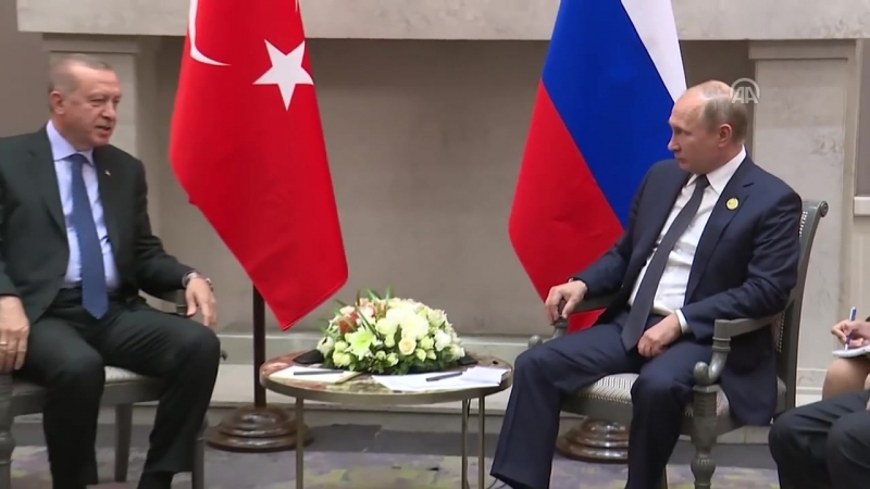 Erdoğan-Putin görüşmesi - JOHANNESBURG