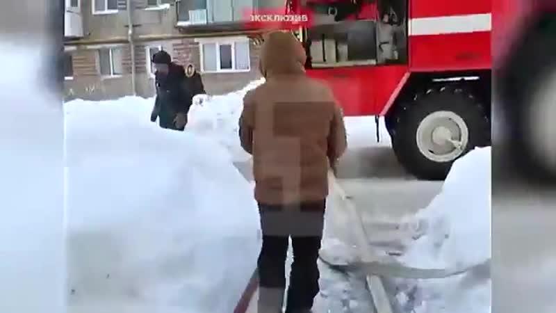 Житель Перми бросился в горящий дом, чтобы спасти кошку и собаку...