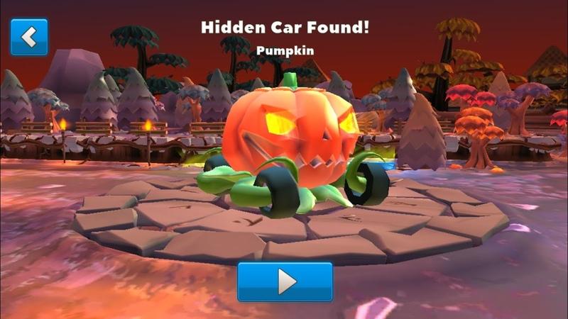 Crash of Cars - Hidden car Pumpkin found in Hollows!