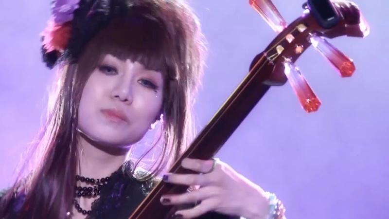 группа Вагакки Японский рок Wagakki Band Japanese rock LIVE
