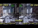 AMD R9 280X VS R9 290 1080P Gaming Performance _ Intel i7 8700K 5.1GHz