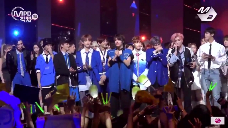 170622 a year ago today, nct127's first music show win!