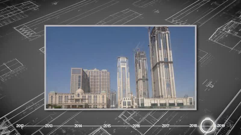 Al Habtoor City Construction Progress Time-lapse (April 2012 – July 2018)