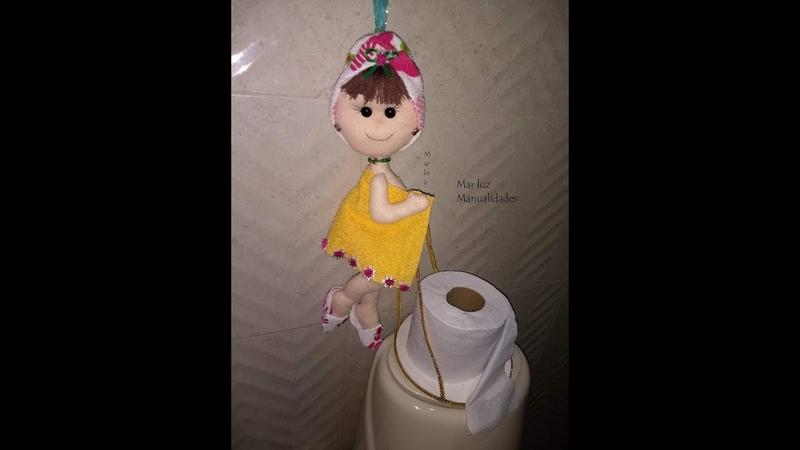 Como hacer una muñeca para el baño