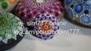 Точечная роспись dot art мандала на маленьком камне