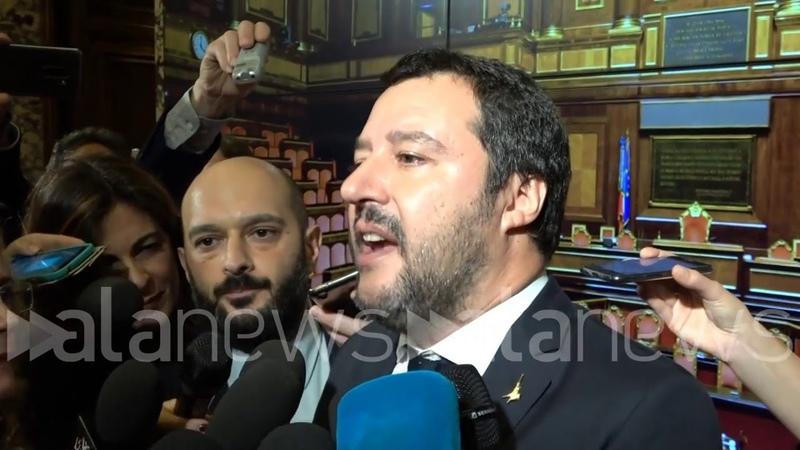 Dl Sicurezza, Salvini: Prima il via libera poi parliamo di tutto
