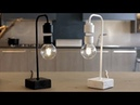 Levia levitating incandescent lamp with anti fall