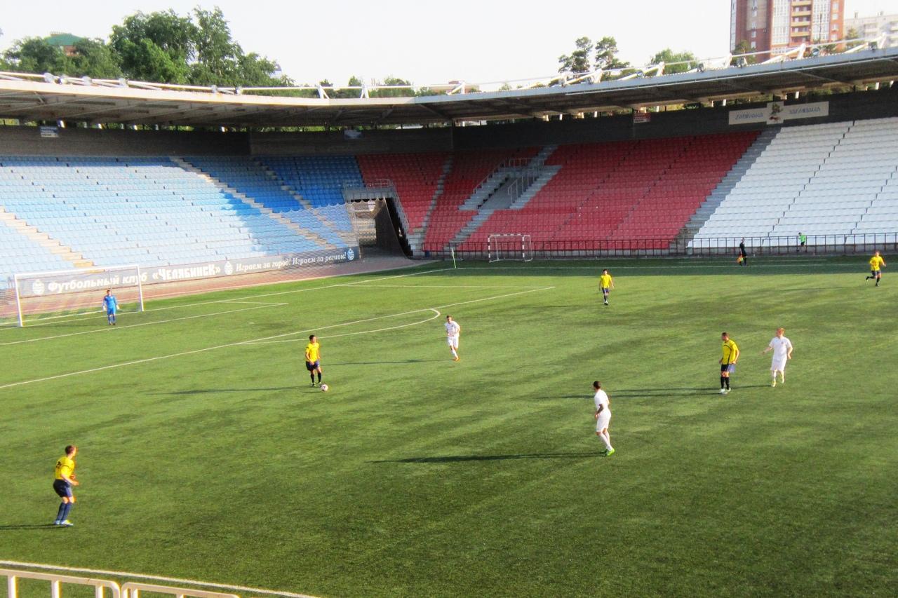20 июня прошли игры 1-4 финала Кубка Челябинской области по футболу.