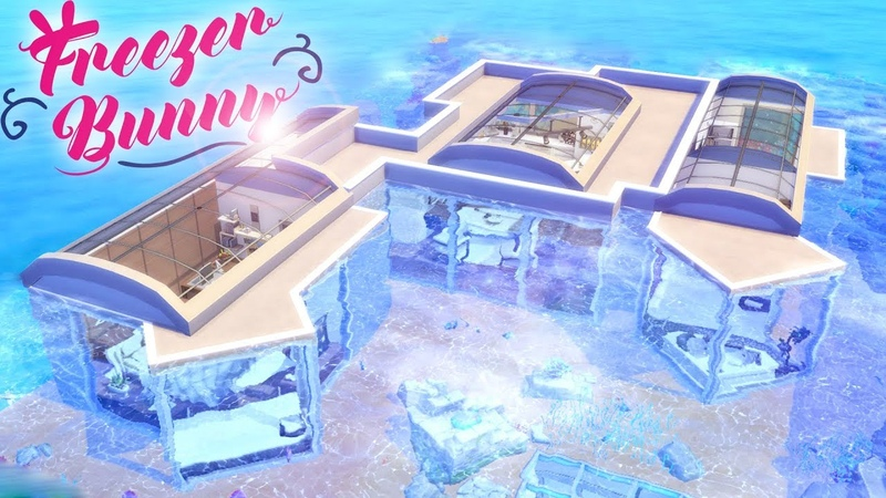 Underwater House 🏖️🐠 | Coral Reef | The Sims 4 | Speed Build | CC Free Download Links