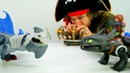 Игры для детей – Иккинг и Пират Кейк - Как приручить дракона.