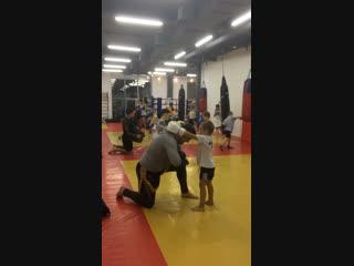 Егор 4г и Богдан 3г в СК Чемпион 18.10.2018
