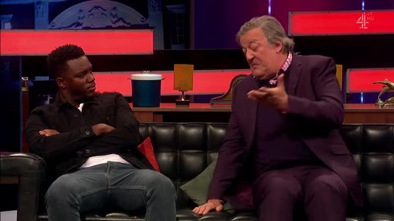 Стивен Фрай второй сезон седьмая серия Stephen Fry Ian Wright Guz Khan Tim Westwood Little Simz Tory Lanez