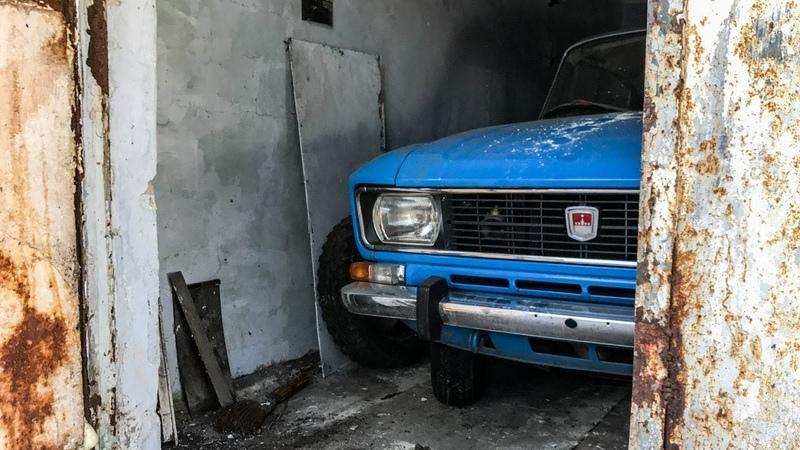 Гаражная находка Москвич-2140 с пробегом 8715 км Капсула Времени