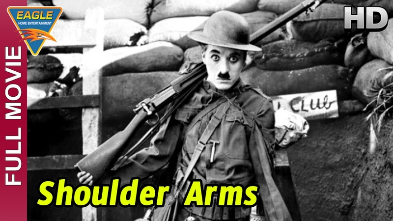 Shoulder Arms Full Movie || Charlie Chaplin, Edna Purviance || Eagle Hollywood Movies
