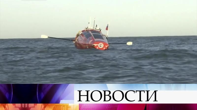 Федор Конюхов рассказал, как проходит одиночное кругосветное путешествие на весельной лодке.