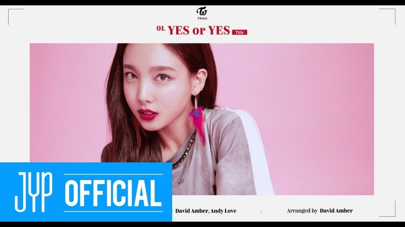 TWICE YES or YES INTRO