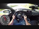 Audi RS7 750 HP AUTOBAHN POV 325 km_h ACCELERATION TOP SPEED by AutoTopNL