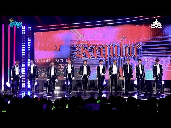 [예능연구소 직캠] 엔시티 127 레귤러 @쇼!음악중심_20181020 Regular NCT 127 in 4K