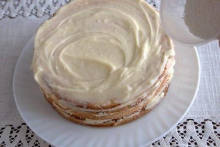 Наполеоновский творожный пирог