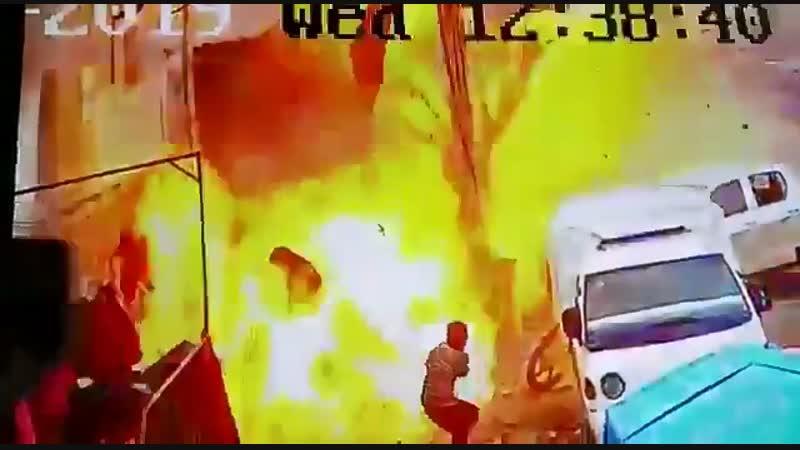 Взрыв у ресторана в Сирии