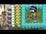 Pvz 2 - Wasabi Whip, Magnifying Grass, Jack O'Lantern vs All Zombies