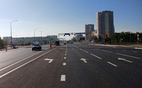 Наносить новую дорожную разметку в Караганде начнут в мае