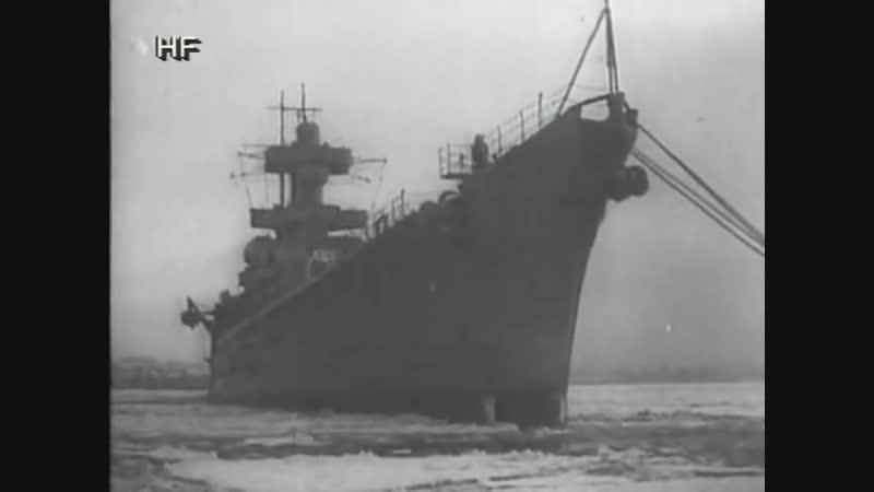 Линкор «Гнейзенау» - флагманский корабль Кригсмарине