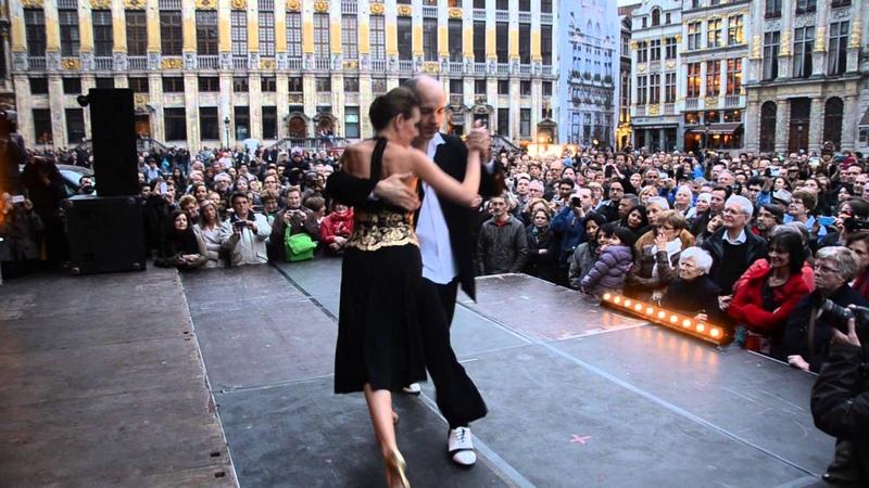 BTF 2014 Grand Place HORACIO GODOY MAGDALENA GUTIERREZ with Solotango Orchestra