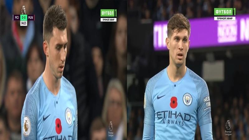 Stones Laporte vs Manchester United HD 1080i (H) 11/11/2018
