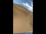 offroad wheeling in desert