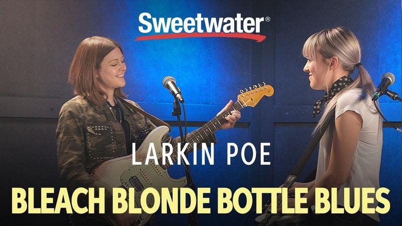 Larkin Poe Perform Bleach Blonde Bottle Blues
