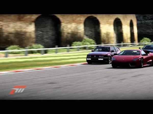 Forza 4 S Class Race VW Corrado vs Ferrari 458 Italia смотреть онлайн без регистрации