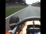 Fernandos front wing = gone