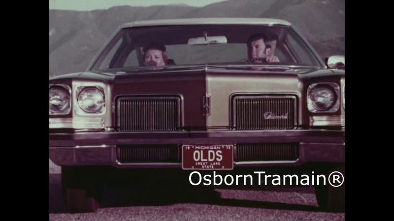 1972 Oldsmobile Delta 88 Commercial - Impact Absorbing Bumpers