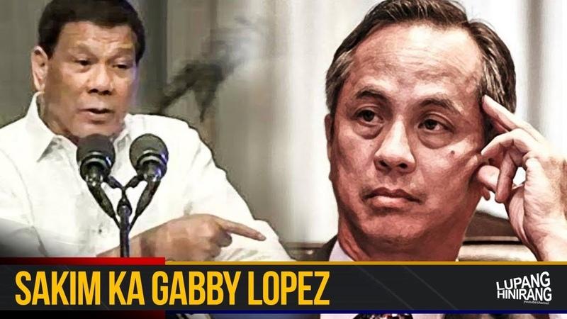 Pangulong Duterte pinagbabayad ng utang si Gabby Lopez