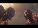 Железный человек vs Танос Мстители Война бесконечности 2018