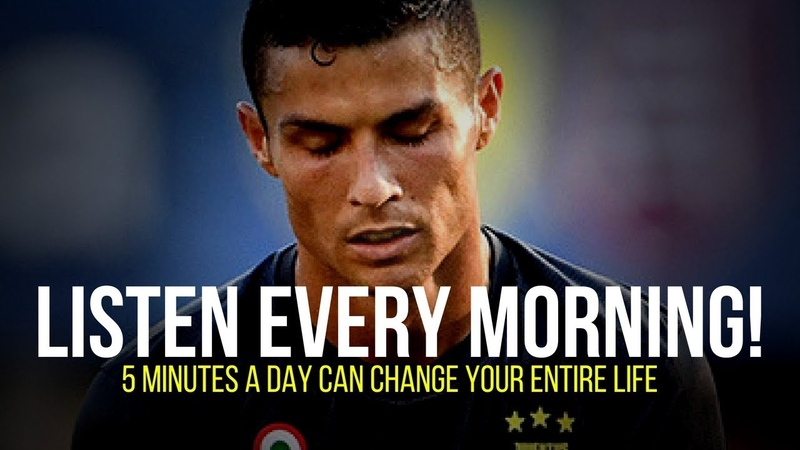 Cristiano Ronaldo: 5 Minutes to Start Your Day Right | MORNING MOTIVATION