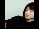 jungkooks face when they told him to check the group chat so he wouldve known about the announcement hdhsh