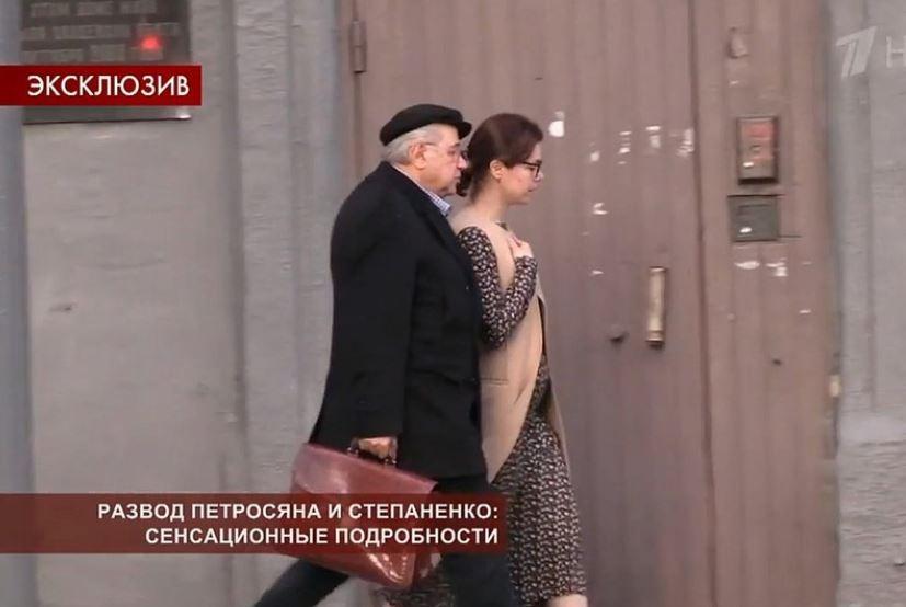 Фото Петросяна с беременной любовницей обсуждают в Сети