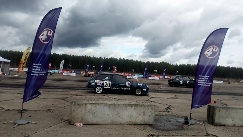 Peugeot 205 MI16 FWD vs Lada 2108 B20b18 Vtec FWD