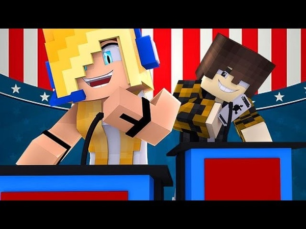 Psycho Girl Show 4 - Psycho Girl For Class President! *Minecraft Roleplay* Minecraft Video