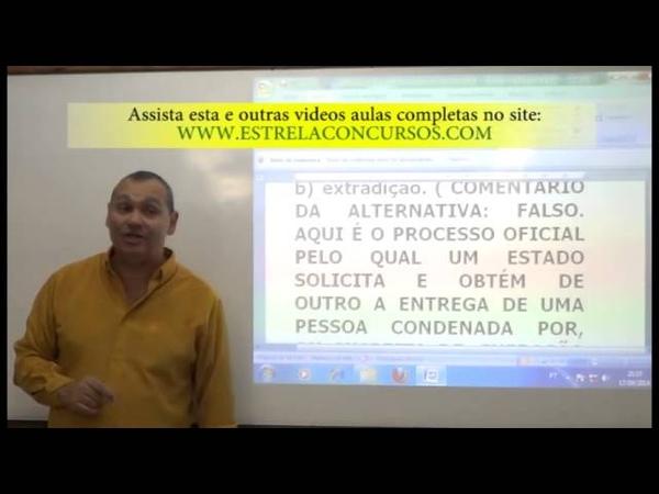Vídeo -04- CONSTITUCIONAL. Correção de Questões da CESPE, FCC E OUTRAS BANCAS III