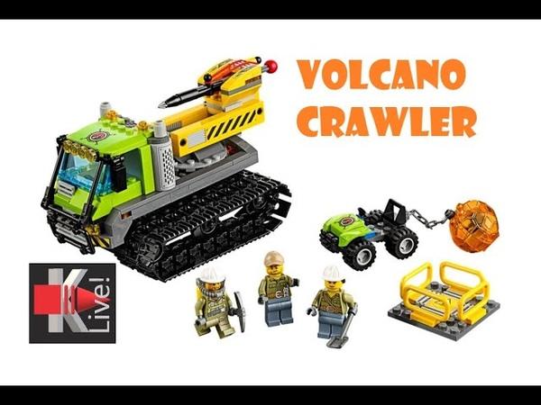 Lego City Вездеход исследователей вулканов