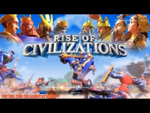 Rise of Civilizations Android iOS Gameplay (By Lilithgames)