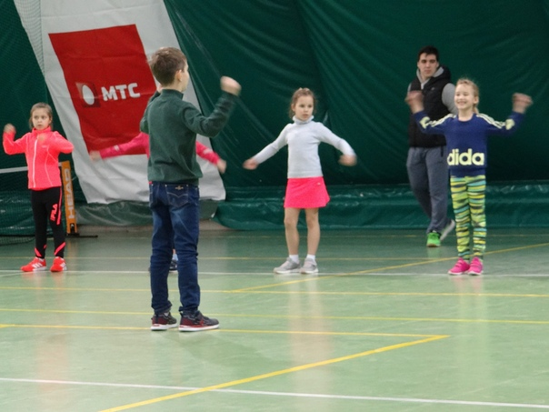 Фестиваль юных любителей тенниса в ТК Чемпион