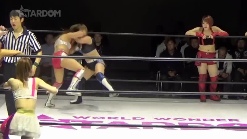 Alex Gracia, Natsumi, Saki Kashima Tam Nakano vs. Bea Priestley, Konami, Momo Watanabe Utami Hayashishita